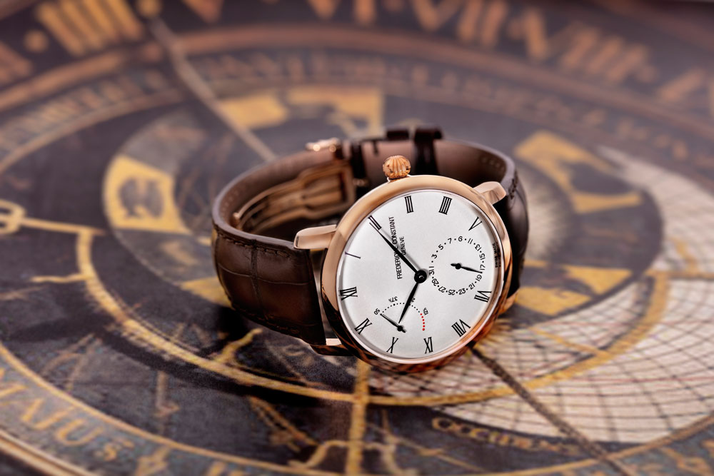 nuevo reloj Slimline Power Reserve Manufacture de Frederique Constant