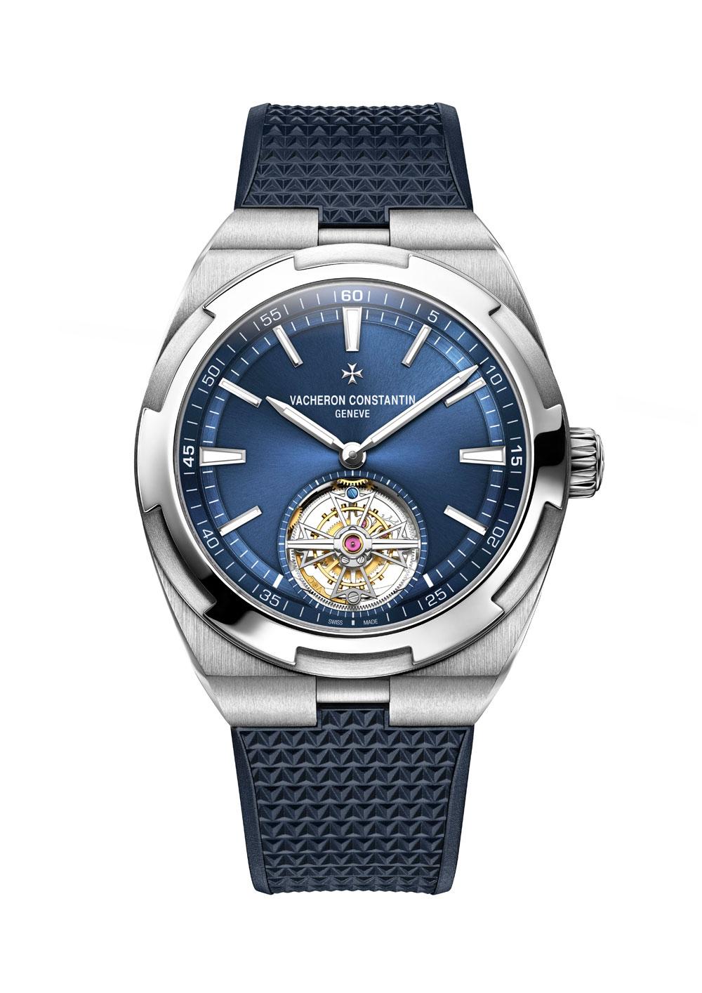 primer reloj Overseas de Vacheron Constantin con tourbillon