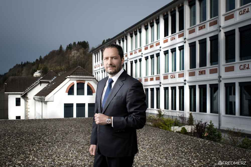 Julian Tornare, CEO Zenith