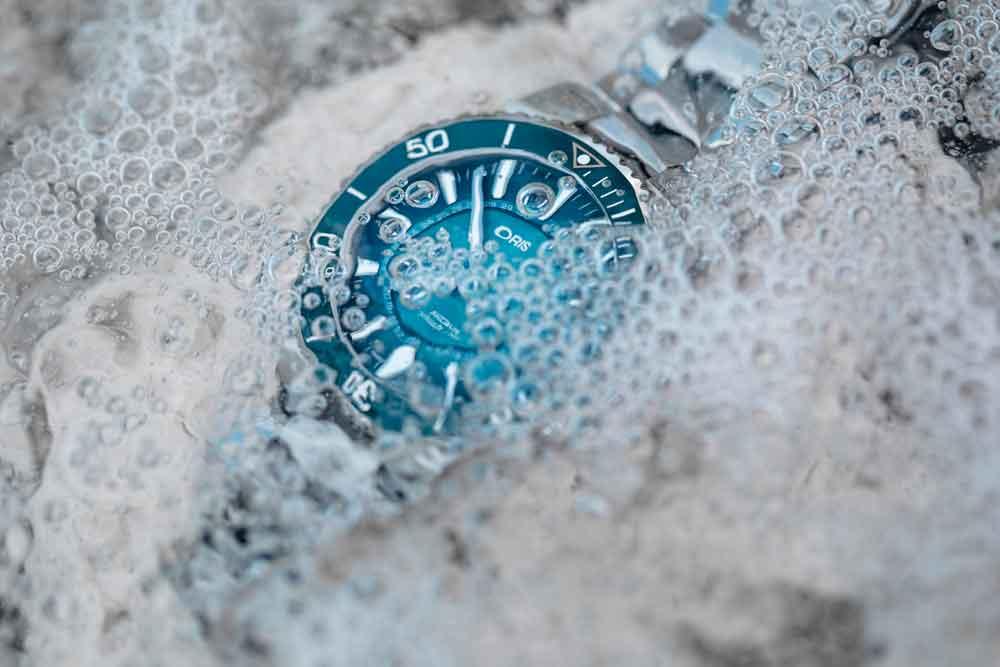 reloj de buceo de Oris Great Barrier Reef Limited Edition III