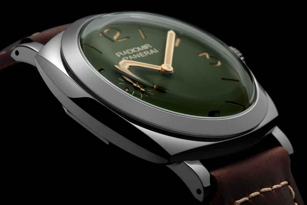 Reloj Radiomir 45 mm con esfera verde de Panerai