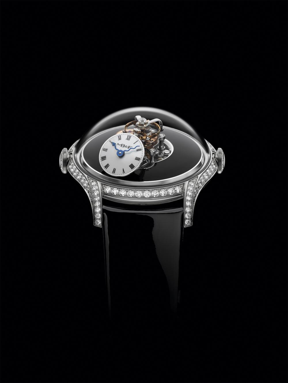 Reloj femenino Legacy Machine FlyingT de MB&FAC