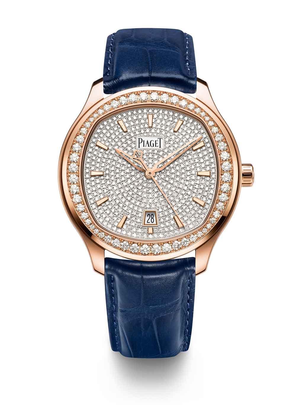 Reloj Piaget Polo 42oro rojo pavé