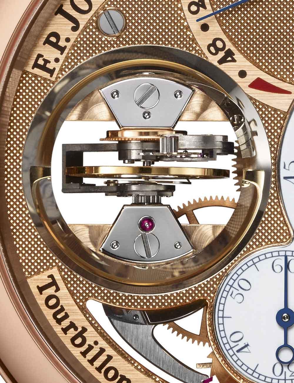 Reloj Tourbillon Souverain Vertical de F.P Journe Invenit et Fecit
